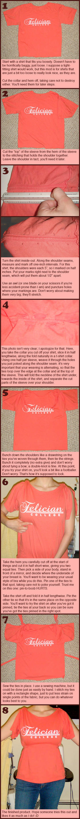 T-shirt Mod 14 Tutorial by mistr3ssquickly
