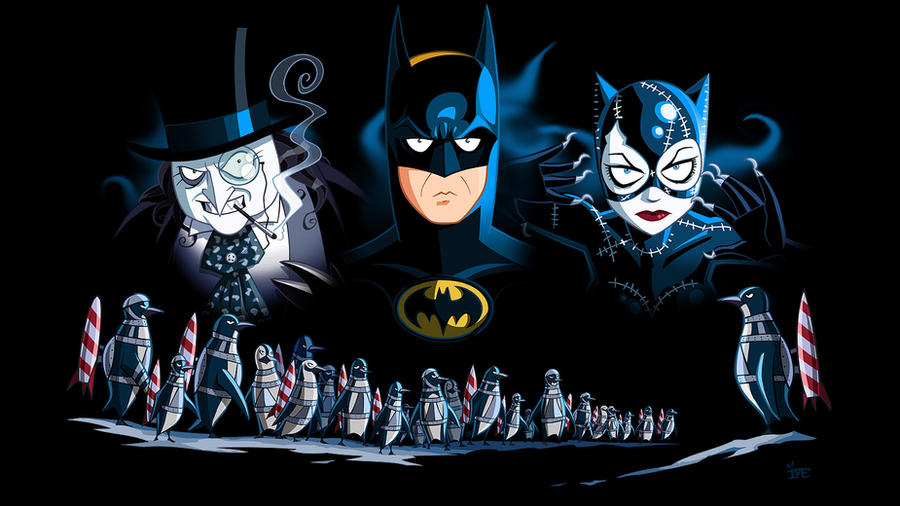 Batman Returns Catwoman Cat Bite Gif