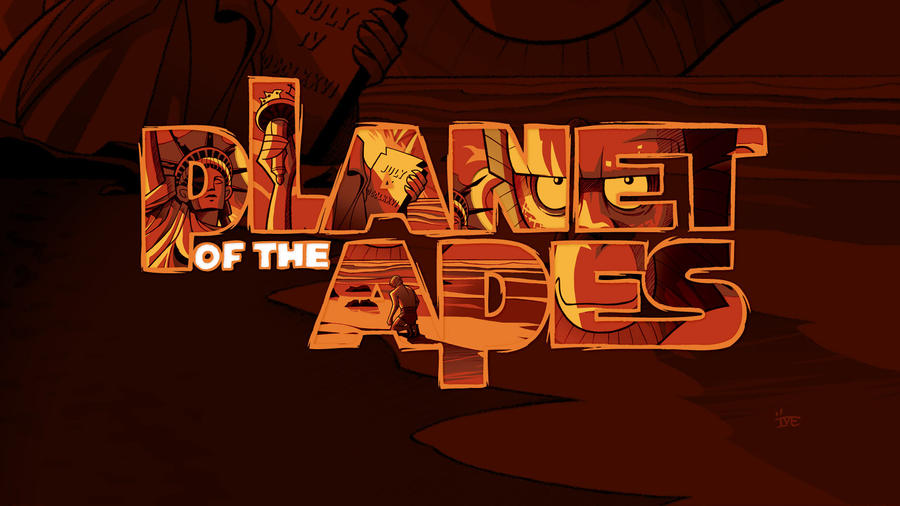 Planet Of The Apes Wallpaper: Planet Of The Apes [wallpaper] By Inkjava On DeviantArt