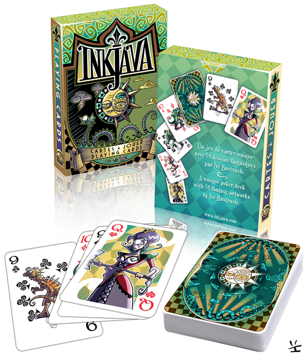 Inkjava Playing Cards [packaging] by inkjava