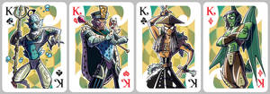 Inkjava Playing Cards [kings]