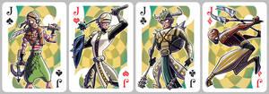 Inkjava Playing Cards [jacks]