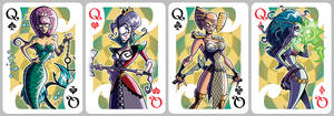 Inkjava Playing Cards [queens]