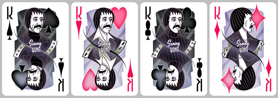 Cher Playing Cards [kings]