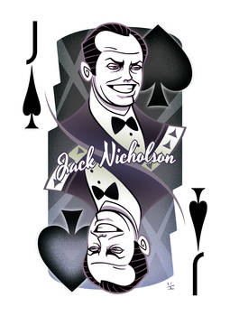 Jack Nicholson of Spades