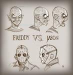 Freddy Vs. Jason [sketches]
