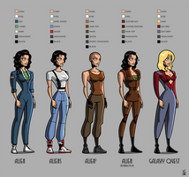 Ripley paper doll by ivewhiz
