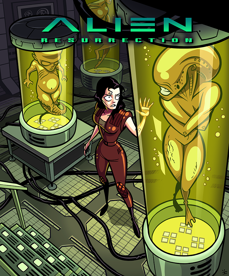 Ripley Meets The Family by ivewhiz
