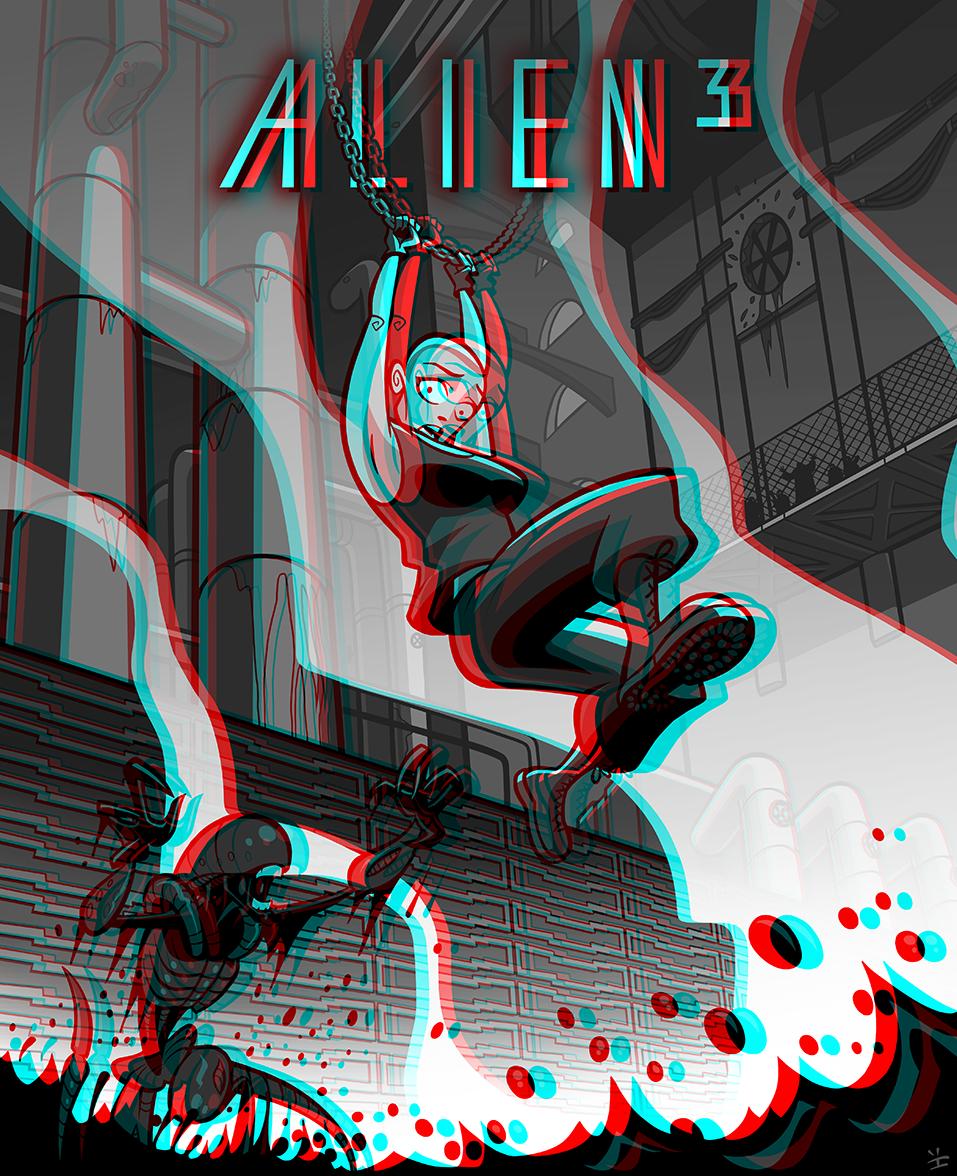 Super Alien 3 3D! by inkjava