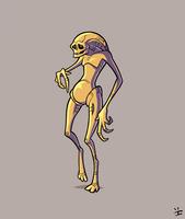 Xenomorph Roster: Newborn Alien by ivewhiz