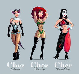 Holy Cher, Batman!
