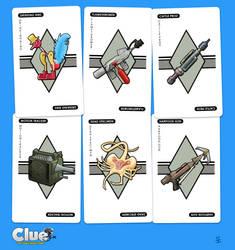ALIEN Clue (Item Cards)