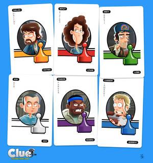 ALIEN Clue (Suspect Cards)