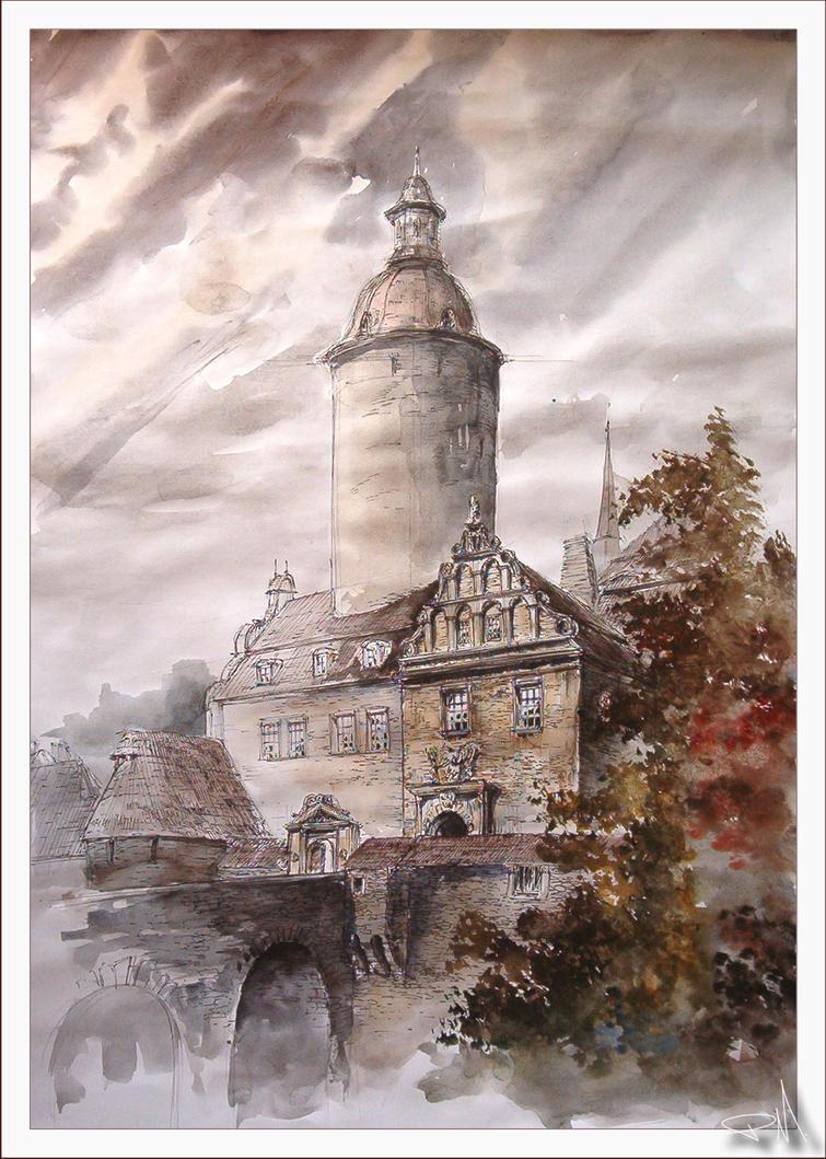 fuc... old architecture by magic-ravioli