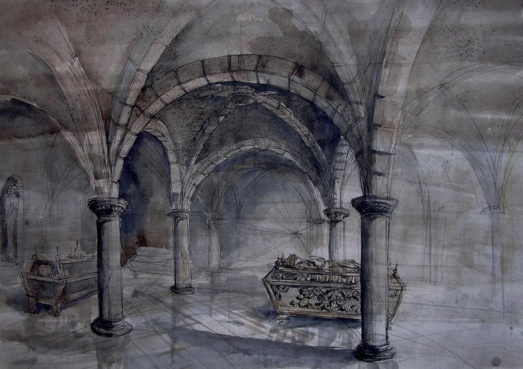 roman crypt by magic-ravioli