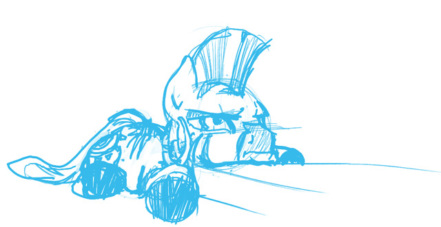 ZECORA IS UNHAPPY AT THE LACK OF UPDATES by theinexplicablebrony
