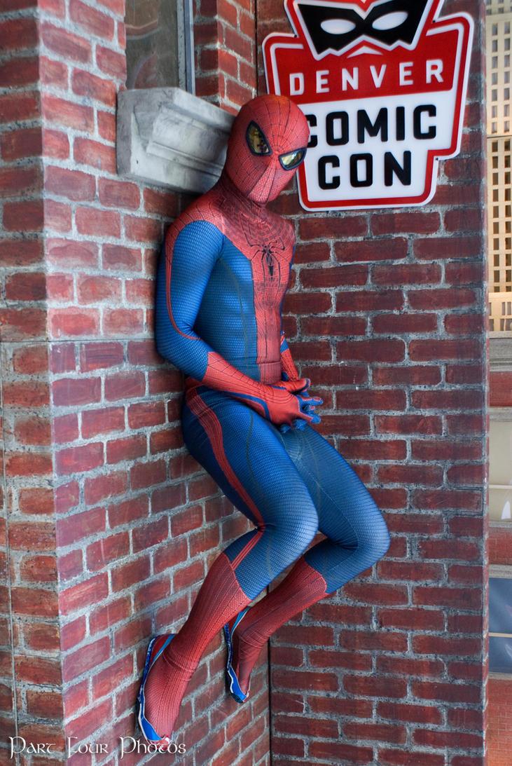 Spider Man Chillin By Josheaiv On Deviantart