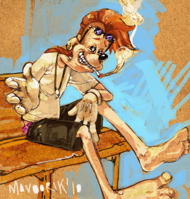 A Goofy Movie: Bobby Z. by mavoorik