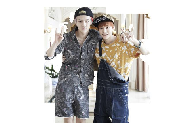 Xiumin And Sehun Sehun Xiumin (EXO) PNG...