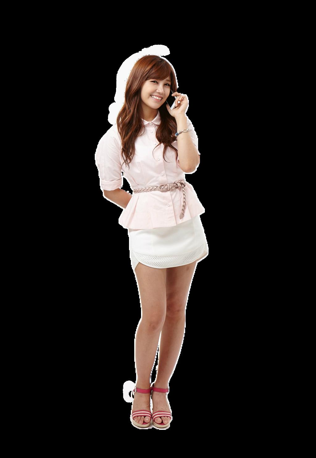Eunji (Apink) PNG Render by MiHVVN - 464.4KB