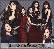 Pack PNG - Tiffany (SNSD) Bora (Sistar) by MiHVVN