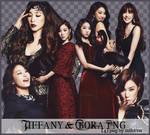Pack PNG - Tiffany (SNSD) Bora (Sistar)
