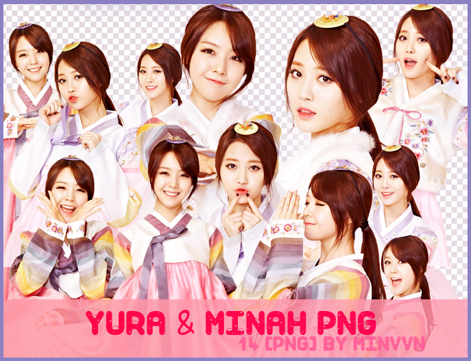 PACK PNG - Yura MinAh (Girl's Day) by MiHVVN on DeviantArt