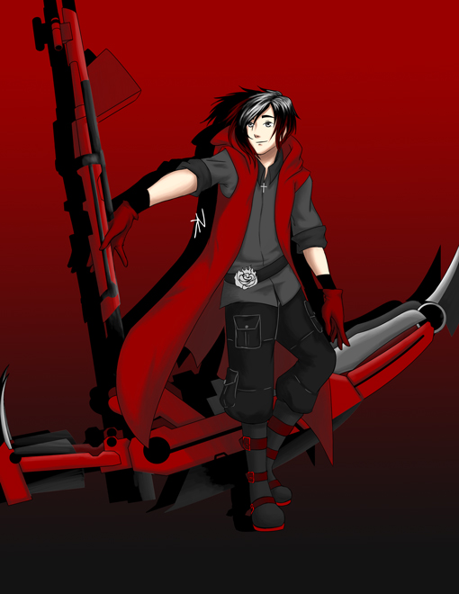 Request ruby rose x male faunus reader by thanatos mors on 5ways2win