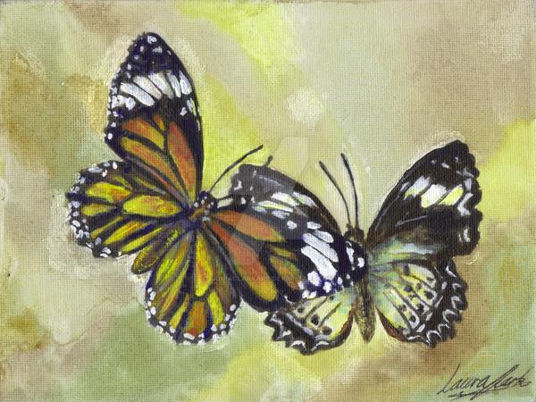 Butterflies by LauraClarkArt
