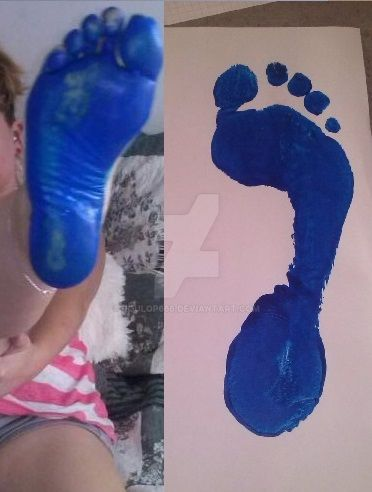 Paint Soles for a Fan by poulop666