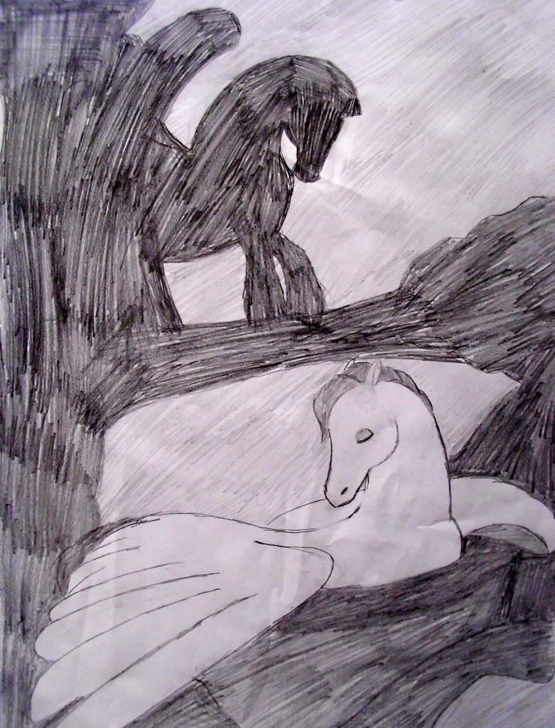 Fantasia- The Pegasus by BadWolf212