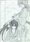 Kaoru and Kenshin