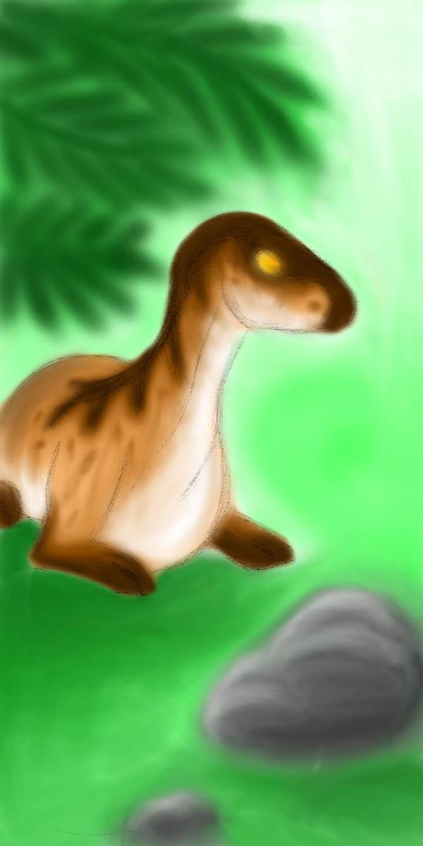 Juvy Parasaurolophus