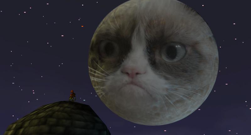 Majora's Mask: Grumpy Moon by Super-Smash-Bros-64