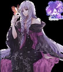 RENDER Violette - Reine des Fleurs by miobukii