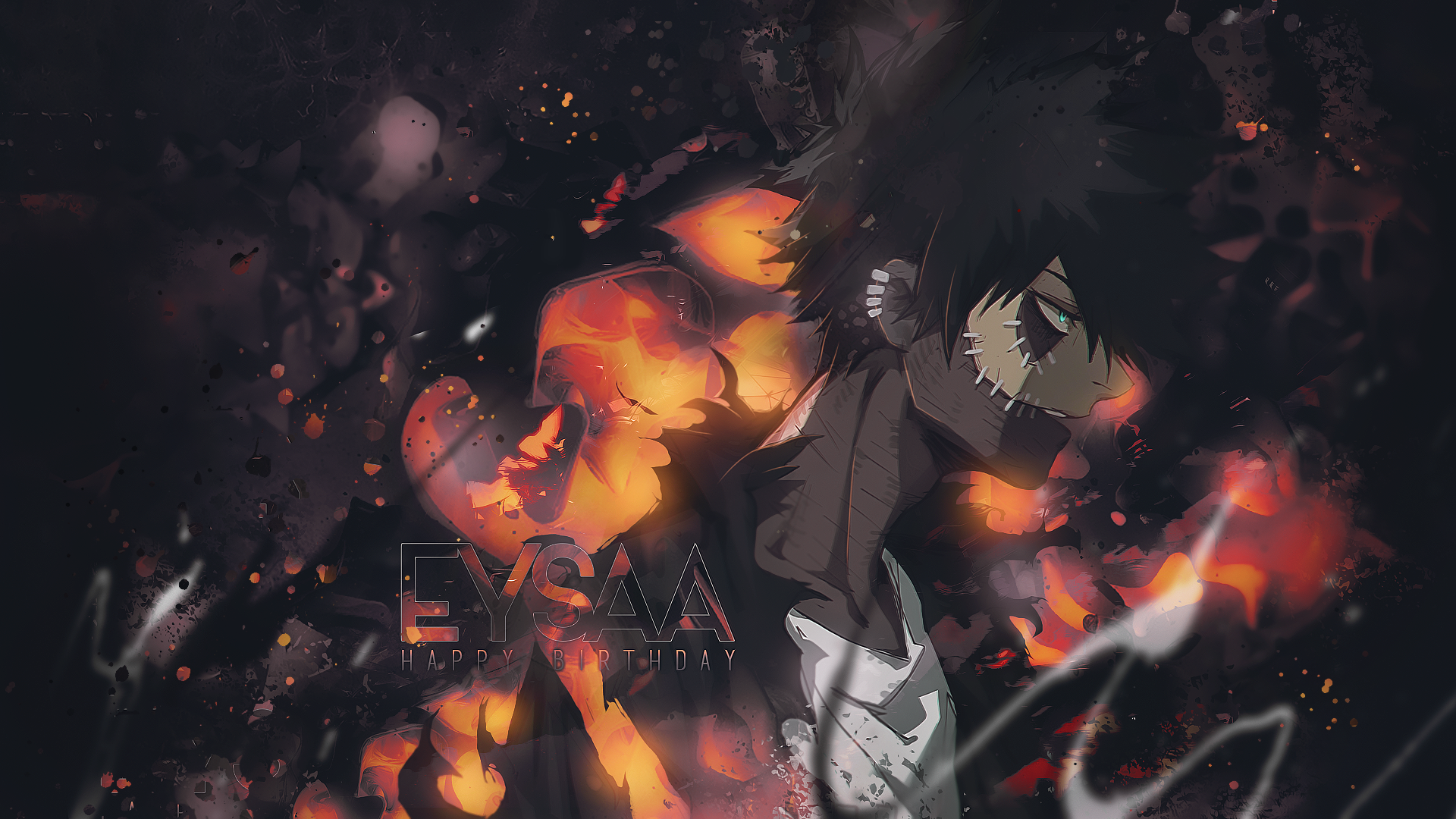 Wallpaper Dabi Happy Birthday Ey San By Miobukii On