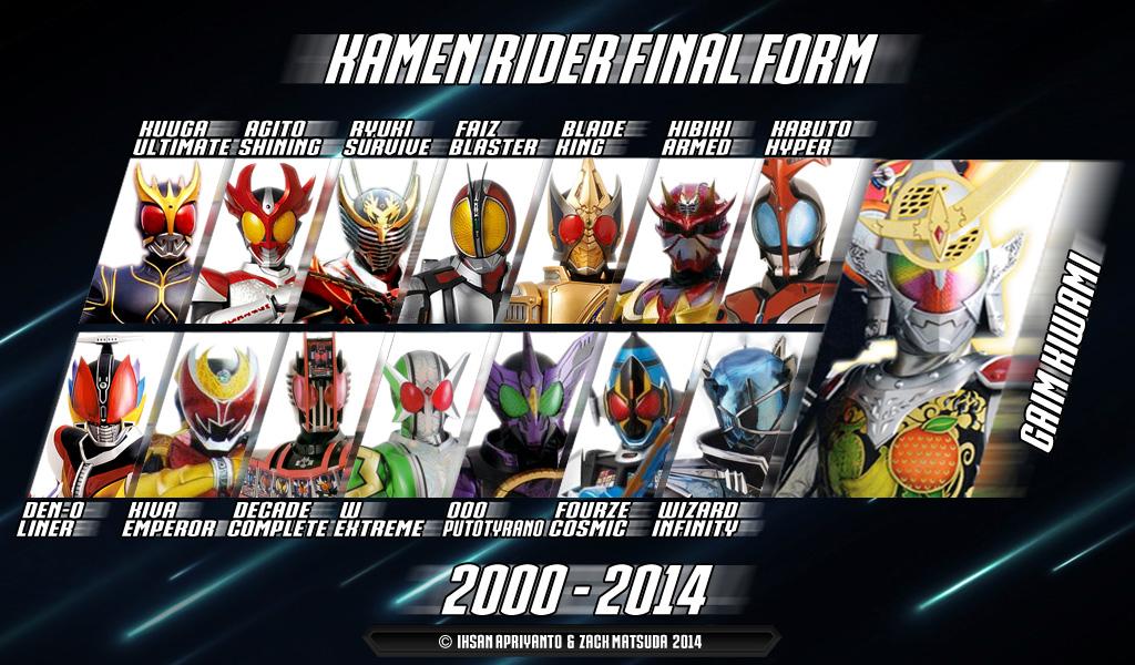 Heisei Rider Final Form by Ihsan-Apriyanto on DeviantArt