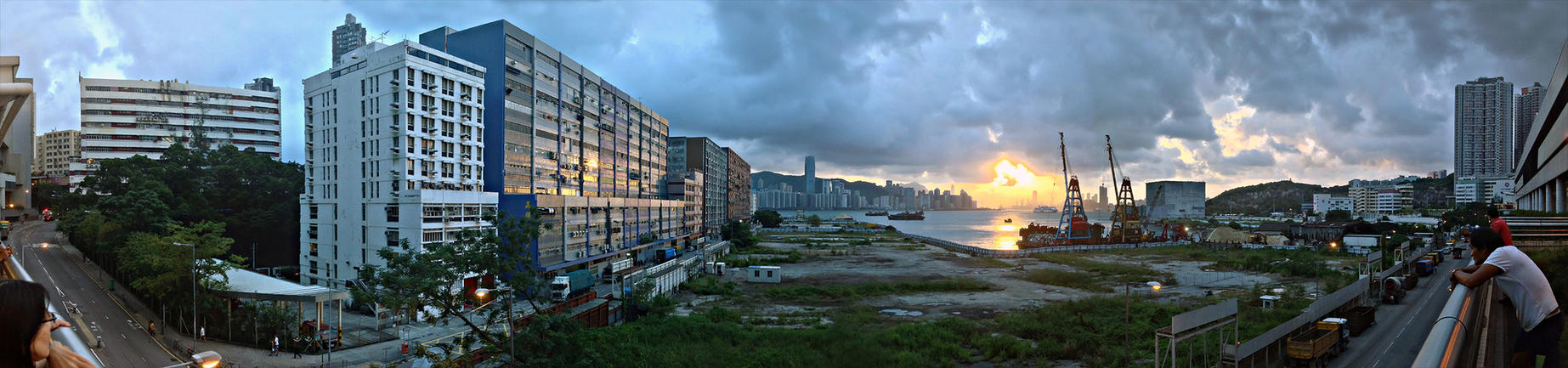 Panorama - Yau Tong (HDR) by Dystatic-Studio