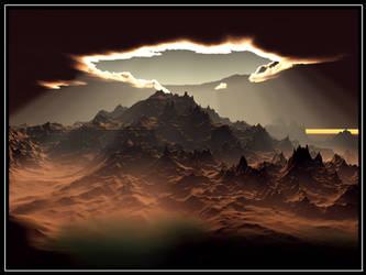 New Beginning - Terragen by furryphotos