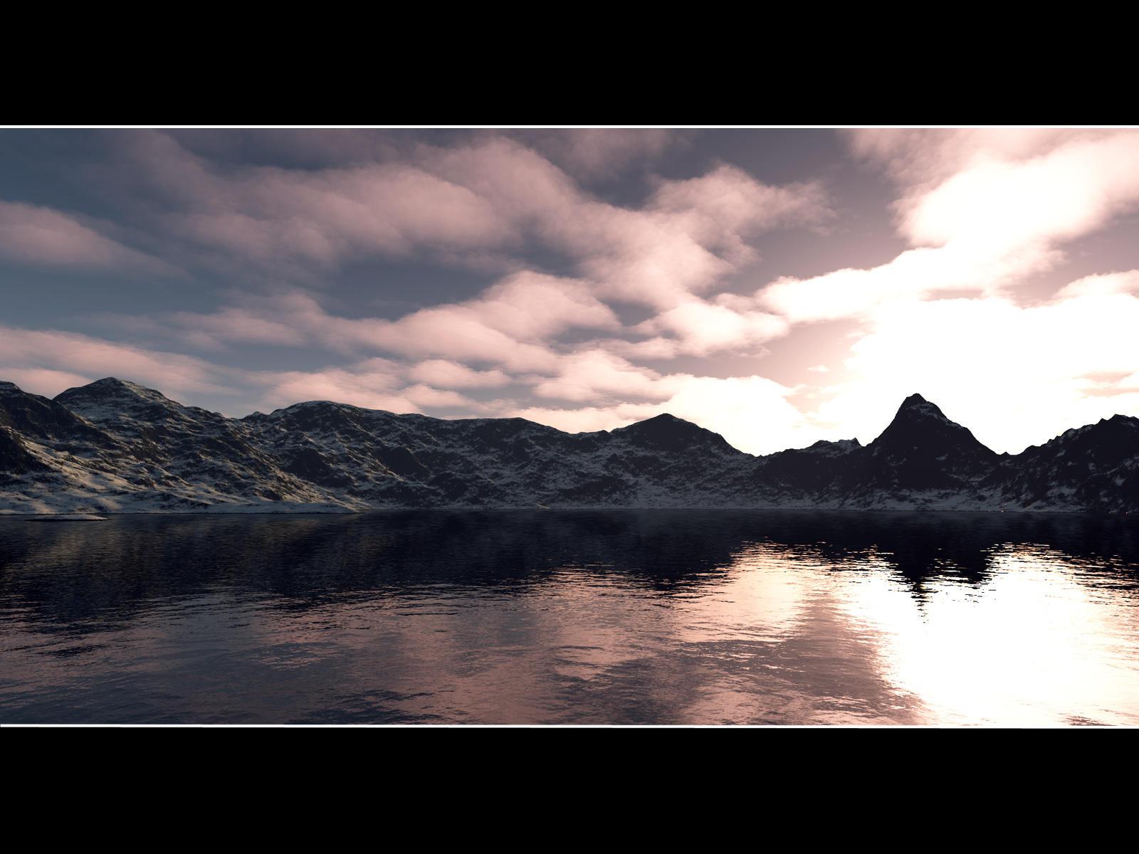 Calm - Terragen by furryphotos