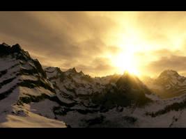 Beacon - Terragen by furryphotos