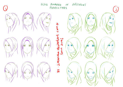 Hijab awning - Perspectives