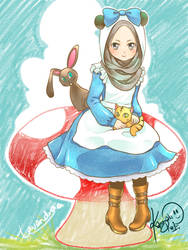 Alice Panda-chan by Lavendra