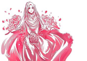 Pink Dress by Lavendra