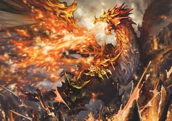 Dragon Cesar by antilous