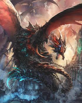 deep dark dragon