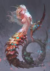 Scorpion Lady Re