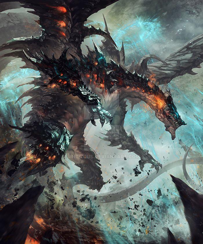 Dragon King of destruction by antilous