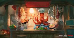 Seafood dining car
