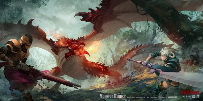 Monster Hunter by antilous